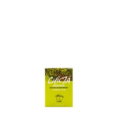 Chicza Lime chewing gum bio - fronte