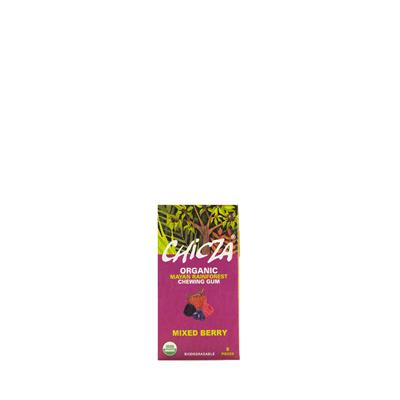 Chicza Mixed Berry Chewing Gum Bio - fronte