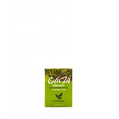 Chicza Spearmint Chewing Gum Bio - fronte