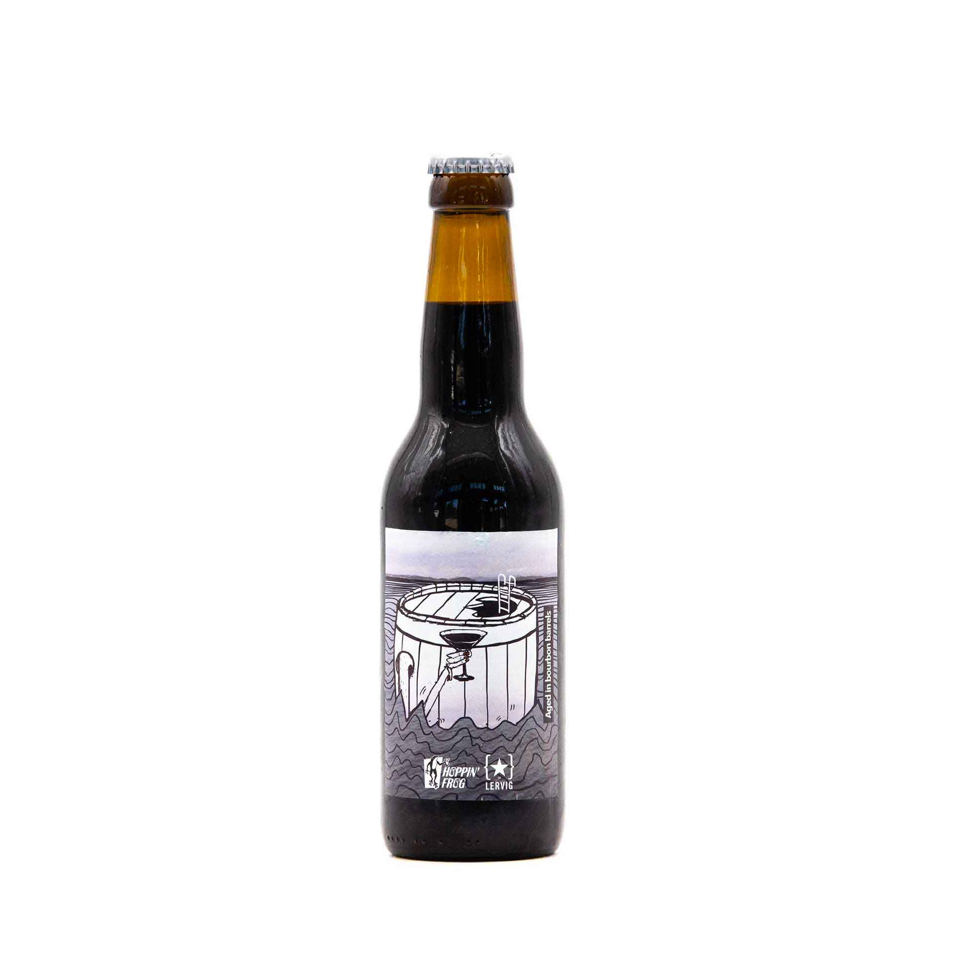 "Russian Imperial Stout ""Sippin' Into Darkness"" - fronte"